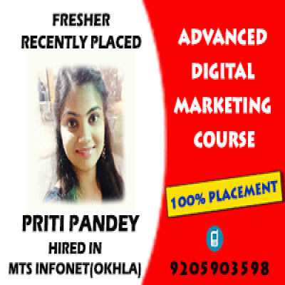 parveen content writing placed candidate