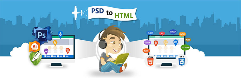 psd to html convert web designing