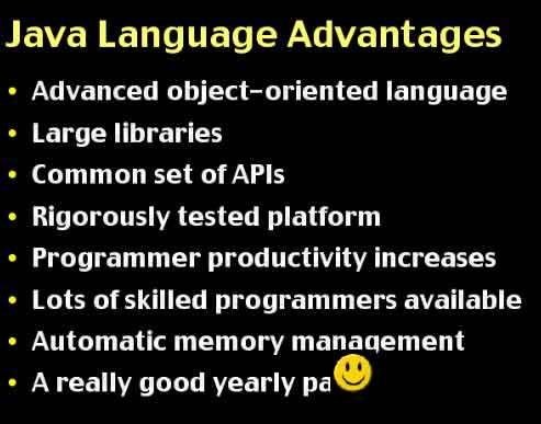 Advantages of Java
