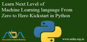 Learn Next Level of Machine Learning language From Zero to Hero