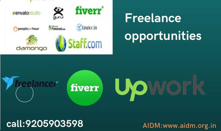 Freelance opportunities