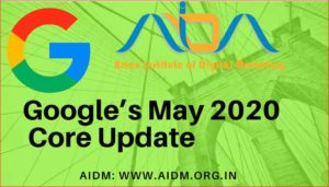 Google's May 2020 Core Update
