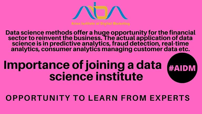Importance of joining a data science institute