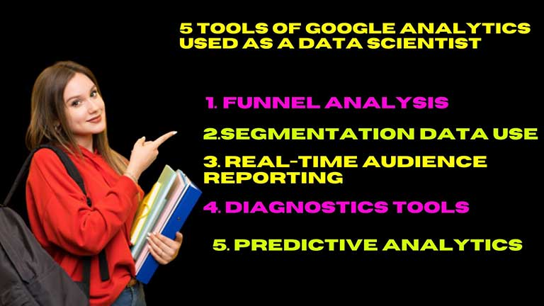 5 tools of Google Analytics that can be used as a Data Scientist