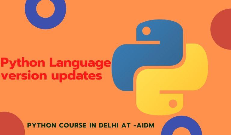 Python Language version updates