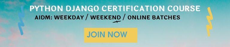django certification course in delhi