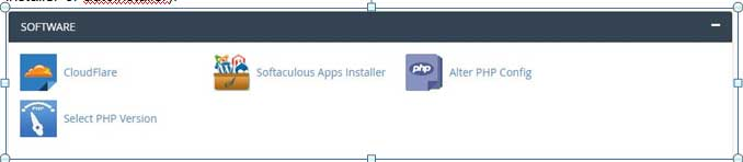 softaculous apps installer or autoinstaller