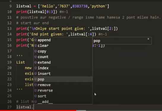 Append-method-in-python