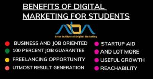 Benefits of Digital Marketing for Students
