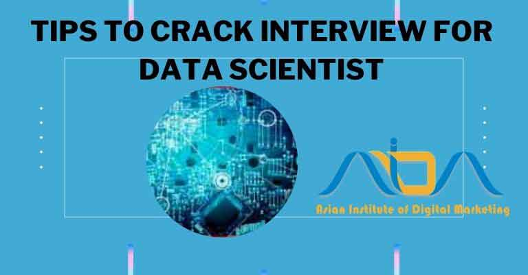 Tips to crack the interview for the post of data scientist by AIDM
