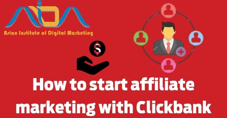 How to start affiliate marketing with Clickbank part-1