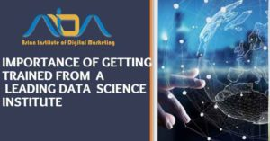 Importance of getting trained from a leading data science institute