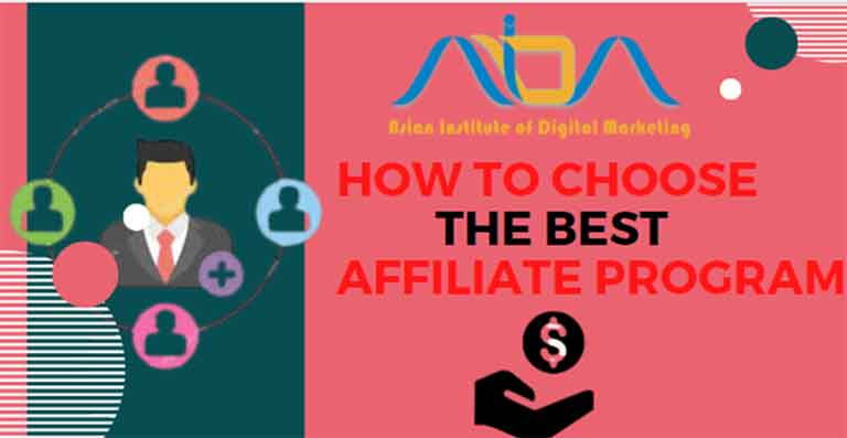 How to choose the best affiliate program