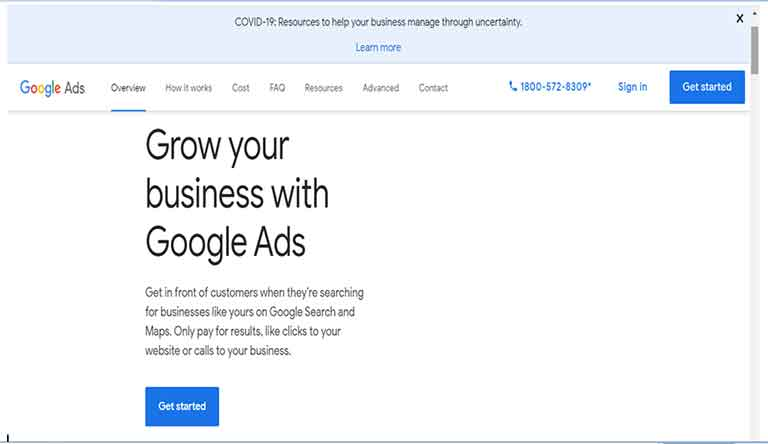 google ads account sign up