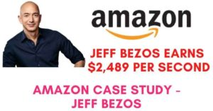 Amazon Case Study- Jeff Bezos