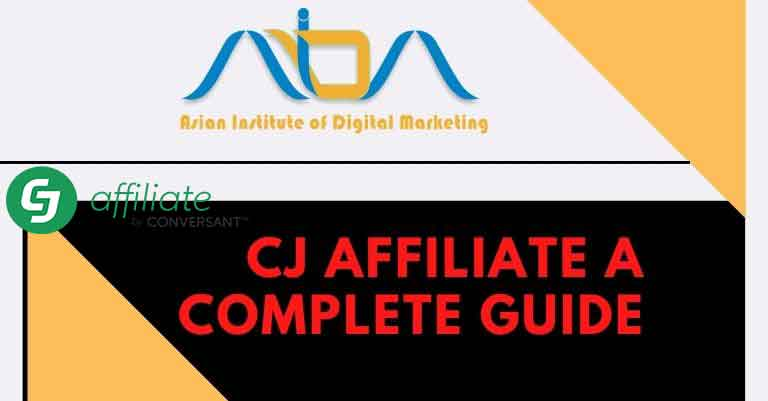 CJ affiliate a Complete Guide