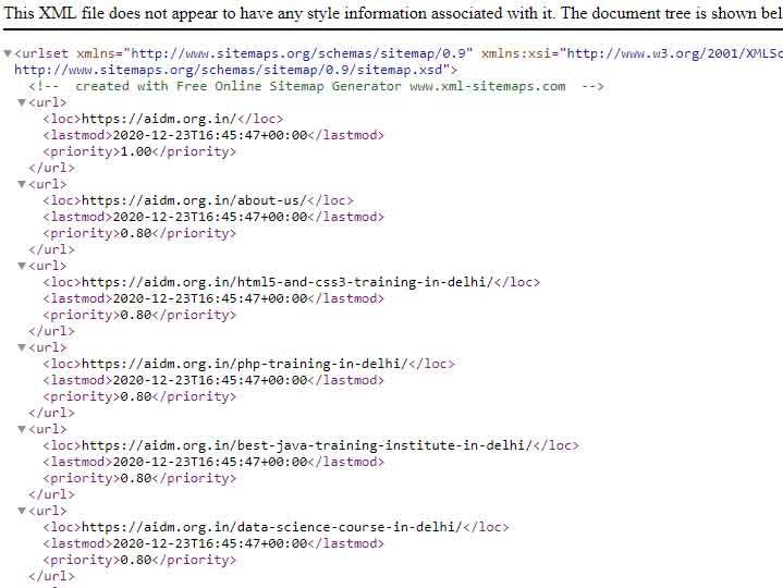 Add XML Sitemaps in WordPress for cpenal