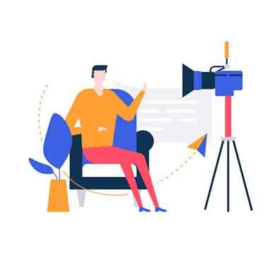 Webinars and live videos