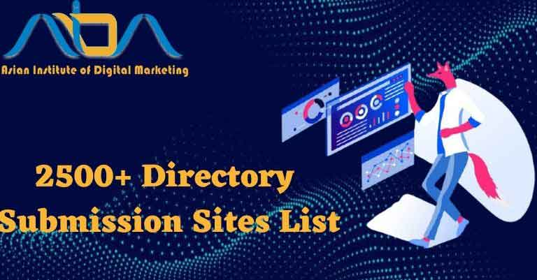High PR directory submission site list 2021