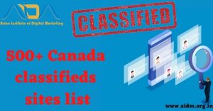 500+ Canada Classified Sites List 2021