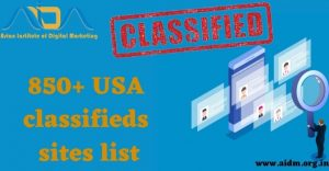 850+ USA classified sites list 2021