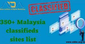 350+ Malaysia Classified sites List 2021