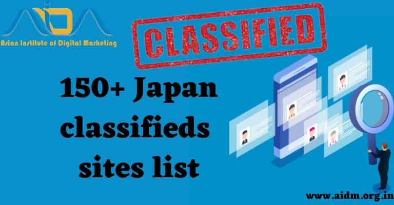 Japan Tokyo free classified ads submission sites list 2021